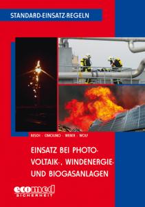 Buchcover SER Einsatz bei Photovoltaik-, Windernergie- und Biogasanlagen