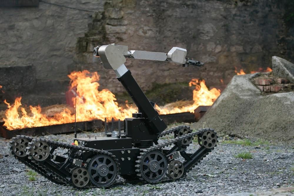Roboter / Eurathlon 2013. Bild: FKIE