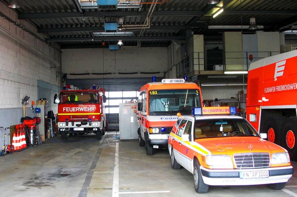Blick in die alten Fahrzeughalle (2007)