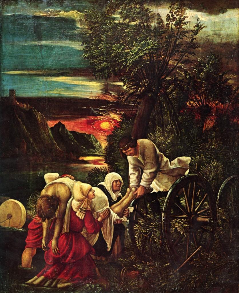 Floriansfolge, Szenen zur Legende des Hl. Florian