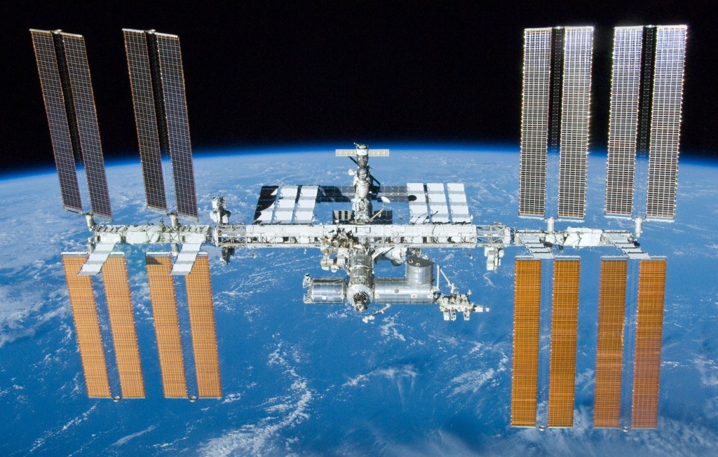 International Space Station. Bild: NASA / Wikimedia Commons