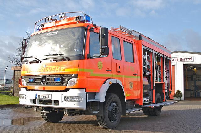 Feuerwehrfahrzeug der FF Hamburg