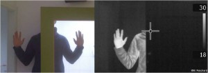 Personen lassen sich durch Glas nicht erkennen. Bild: M. Reichardt/WBK-Einsatz.de