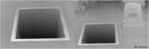 WBKs zeigen kein dreidimensionales Bild, d.h. zur Abschätzung von z.B. Öffnungen im Boden braucht man Referenzobjekte zur Größenbestimmung. Bild: M. Reichardt/WBK-Einsatz.de