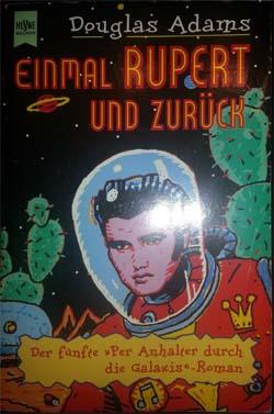 """Buchcover """"Einmal Rupert und zurück"""""""