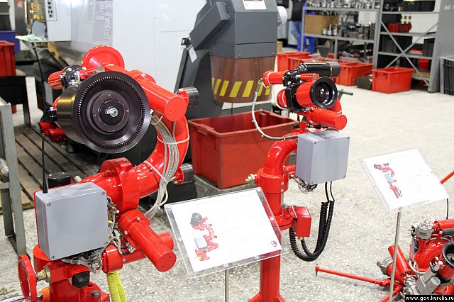 Feuer-Roboter. Bild: Engineering Centre of Fire Robots Technology