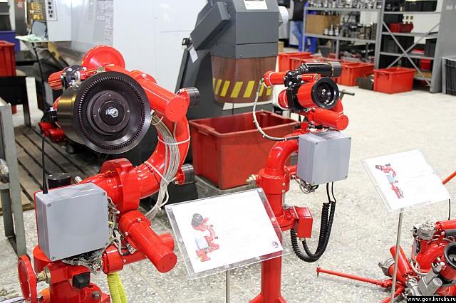 Feuer-Roboter. Bild: Engineering Centre of Fire Robots Technology