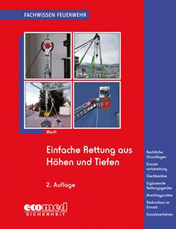 """Buchcover """"Einfache Rettung aus Höhen und Tiefen"""""""