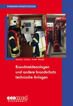 """Buchcover """"Standard-Einsatz-Regeln: Brandmeldeanlagen und andere brandschutztechnische Anlagen"""""""