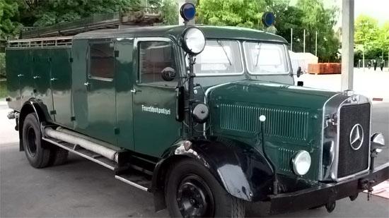 Fahrzeug der Feuerlöschpolizei
