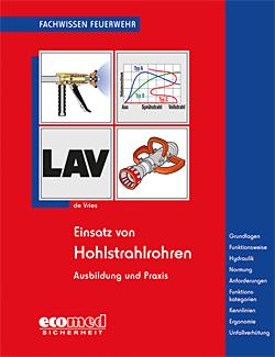 Buchcover de Vries - Einsatz von Hohlstrahlrohren