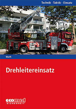 Buchcover Werft- Drehleiterinsatz / Bild: Ecomed