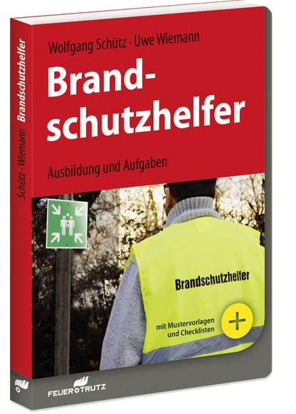 Buchcover Brandschutzhelfer