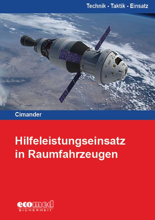 Buchcover Hilfeleistungseinsatz in Raumfahrzeugen