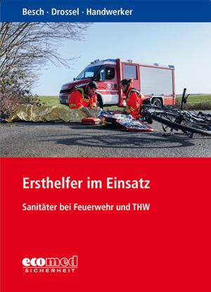 """Buchcover """"Ersthelfer im Einsatz"""""""