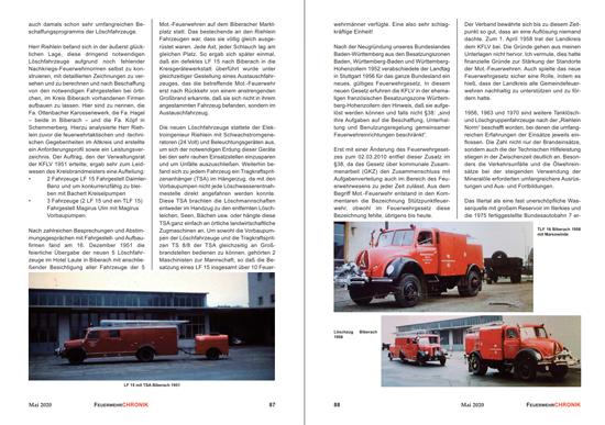 """Ausschnitt aus der FeuerwehrChronik Nr. 3/2020, S. 87-88; aus dem Beitrag """"Der Kreisfeuerlöschverband Biberach - ein Auslaufmodell?"""" von Bernhard Jennen."""